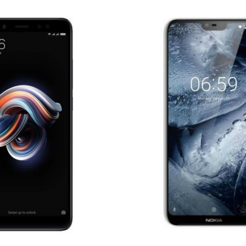 Spec comparison: Nokia 6.1 Plus vs Xiaomi Redmi Note 5 Pro