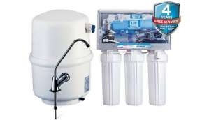 Kent Excell+ 10.7 RO + UV Water Purifier (White)