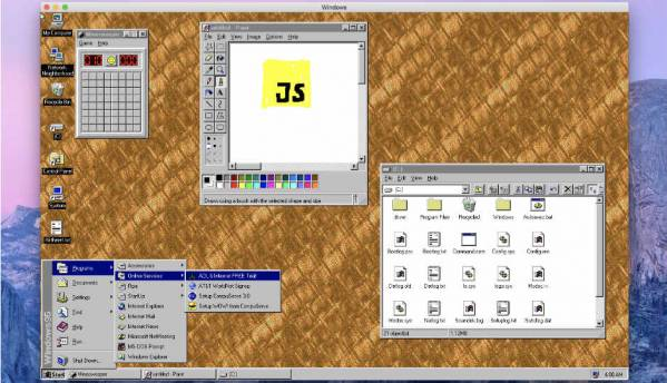 Windows 95 is now a 128MB app that runs on Windows, macOS, and LInux