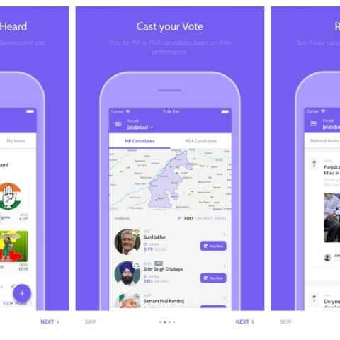 Forget restaurants, now rate your politicians with the Neta app on iOS and Android