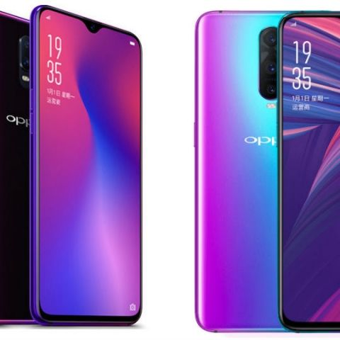 Oppo R17 and R17 Pro with 6.4-inch Full HD+ displays, 25MP selfie cameras are now official