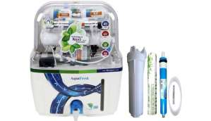 Aqua Fresh Aqua swift Model 15 L RO + UV + UF + TDS Water Purifier (White)