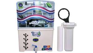 Aquaultra Star 15 L RO + UV + UF + TDS Water Purifier (White)
