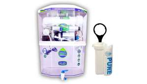 Aquaultra Transparent 15 L RO + UV + UF + TDS Water Purifier (Transparent)