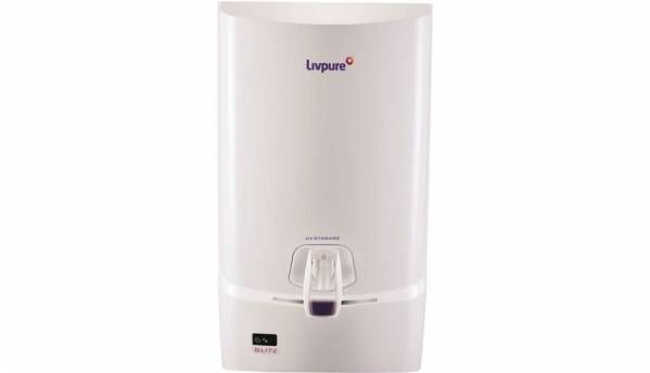 72fccb6d53 Livpure Glitz 7 L UV + UF Water Purifier (White) Water purifier Price in  India, Specification, Features | Digit.in