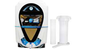 Kinsco Aqua Zoom 13 L RO + UV + UF + TDS Water Purifier (white,black)