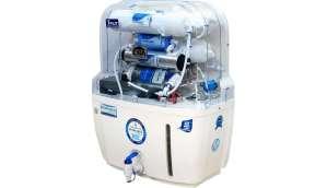 nutriaqua split 15 RO + UV + UF + TDS Water Purifier (White)