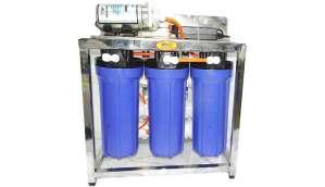 Orange 25 LPH RO Water Purifier (SS Skid 25 RO Water Purifier (-)
