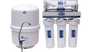 pureness Pureness Under Sink RO Water Purifier in food grade body 10 L RO + UV +UF Water Purifier (White)