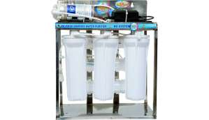 Rk Aquafresh India 25LPH STAINLESS STEEL DOMESTIC PLANT RO Water Purifier (Stainless Sreel)