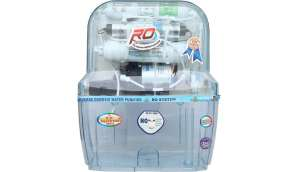 Rk Aquafresh India Az-14Stage Transparent 12 L RO + UV +UF Water Purifier (Transparent)