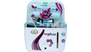 Rk Aquafresh India ZX14STAGE 12 L RO + UV +UF Water Purifier (White)