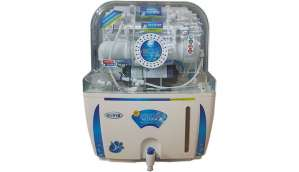 Ruby Electrical 12 L RO + UV Water Purifier (White and Blue)