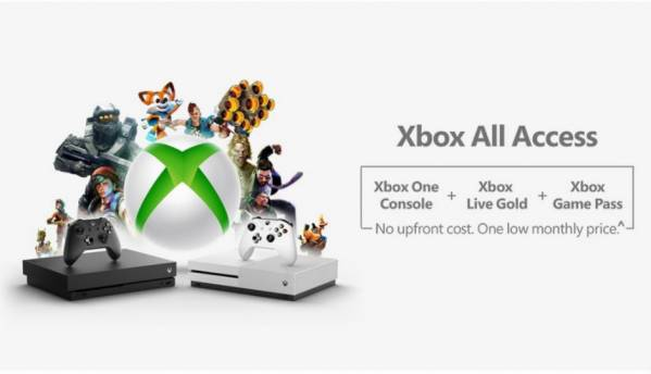 Xbox All Access gets you an Xbox console, Game Pass and Xbox Live Gold for a monthly fee