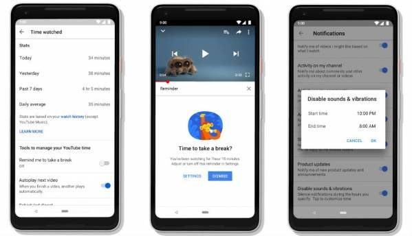 Google Digital Wellbeing rolls out for all Pixel, Android One devices with Android 9.0 Pie