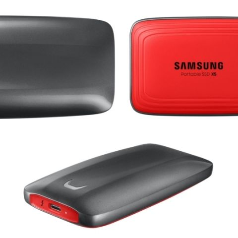 Samsung's 'New Portable SSD X5' with Thunderbolt 3 announced starting at $399.99