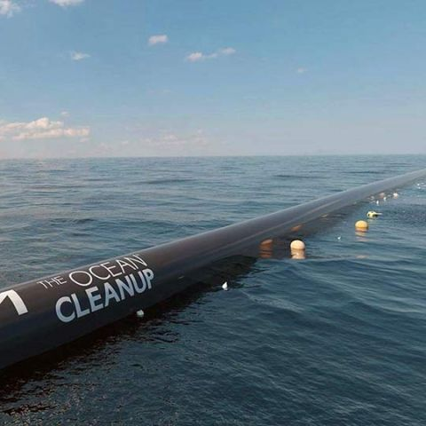 The Ocean Cleanup is launching a giant floater to tackle the great Pacific garbage patch