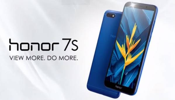 Honor 7S with 18:9 display, 3,020mAh battery launched in India at Rs 6,999