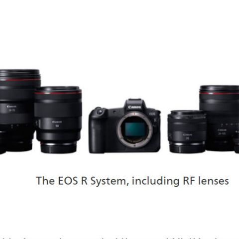 Canon EOS R is the company's first full frame mirrorless camera