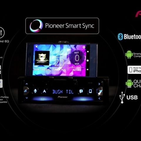 Quick hands-on with the Pioneer SPH-C19BT car head unit