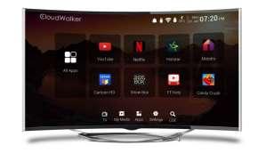 Cloudwalkar 55 inches Smart 4K LED TV