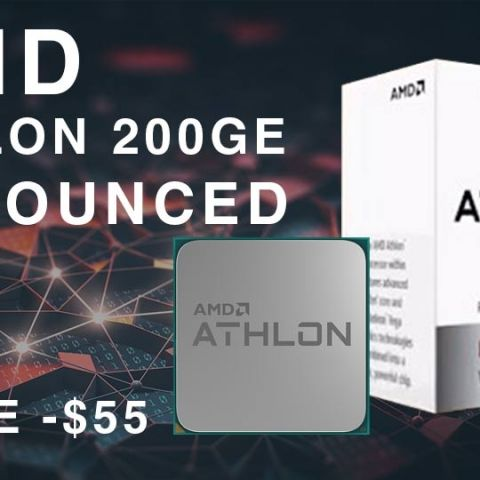 AMD Athlon 200GE with Radeon Vega graphics announced at $55