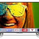 Compare மைக்ரோமேக்ஸ் 109cm (43) Ultra HD (4K) Smart LED டிவி  vs Sanyo 49 அங்குலங்கள் Smart Full HD LED டிவி
