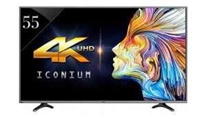 Vu Technologies P Ltd 55 inches Smart 4K LED TV