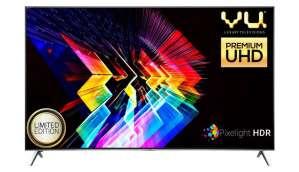 Vu Technologies P Ltd 75 inches Smart 4K LED TV