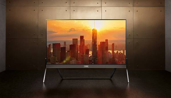 Vu's 100-inch 4K HDR TV is priced at Rs. 20 lakhs