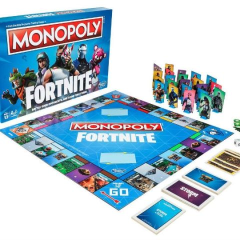 Epic Games partners with Hasbro to release Monopoly variant, Nerf blasters based on Fortnite Battle Royale