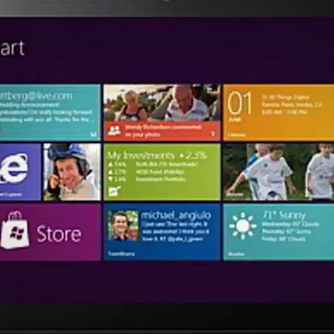 Hardware requirements of Windows 8 tablets revealed