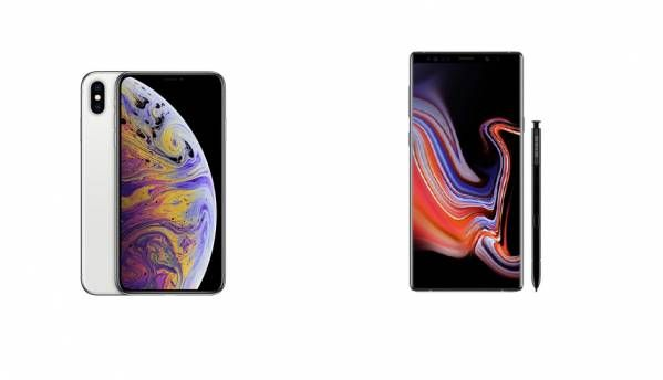 Apple iPhone Xs Max vs Samsung Galaxy Note 9: Specs Compared