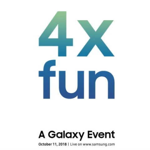 Samsung could launch a Galaxy smartphone with four cameras on October 11