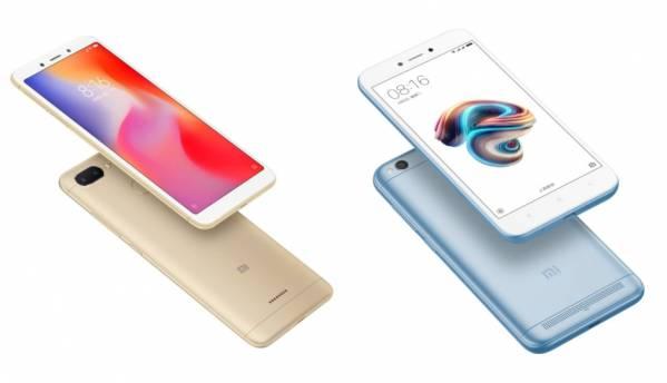 Xiaomi Redmi 6, Redmi 5A to go on flash sale today at 12PM via Flipkart and Mi.com