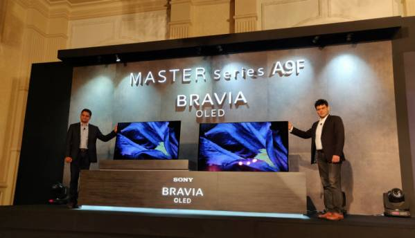 Sony launches A9F Bravia Master Series 4K TVs with Netflix Calibrated Mode in India