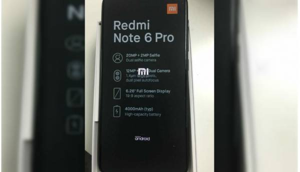 Xiaomi Redmi Note 6 Pro listed on AliExpress for sale ahead of official launch