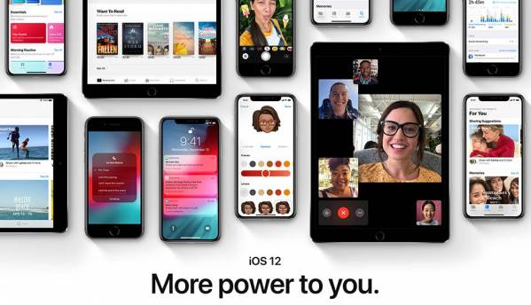 Apple iOS 12 update for iPhone and iPad now available for download