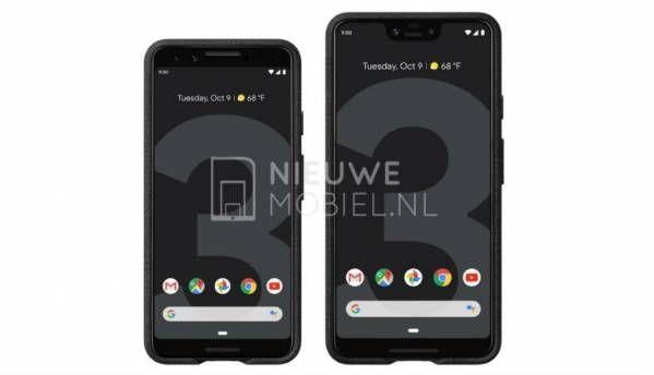 Google Pixel 3, Pixel 3XL leaked in alleged press images