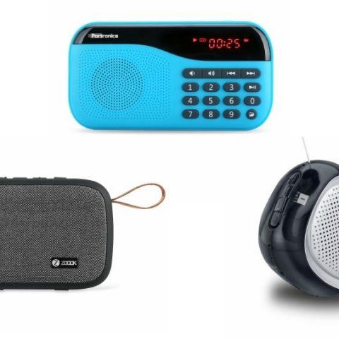 Best Bluetooth Speaker deals under Rs 1,000 on Paytm Mall