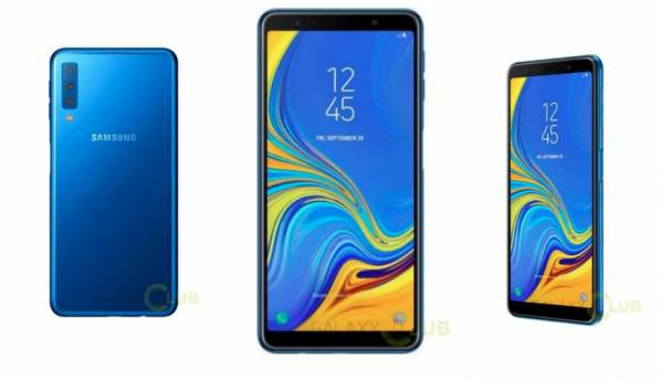 Samsung Galaxy A7 (2018) leaks show smartphone with triple rear-camera setup