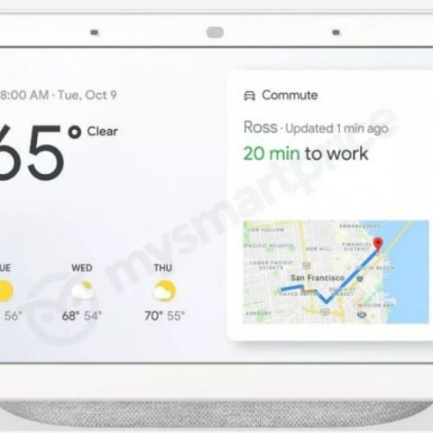 Google's Home Hub smart display to feature 7-inch display, full-range speaker: Report