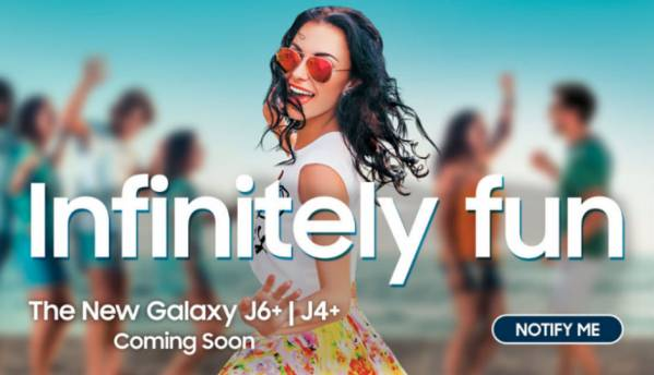 Samsung Galaxy J4+, Galaxy J6+ to launch in India on September 25