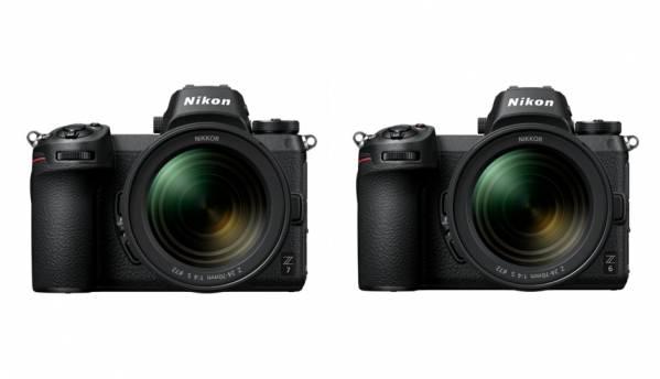 Nikon Z7, Z6 Full Frame Mirrorless cameras, Nikkor Z S-Line lenses launched in India
