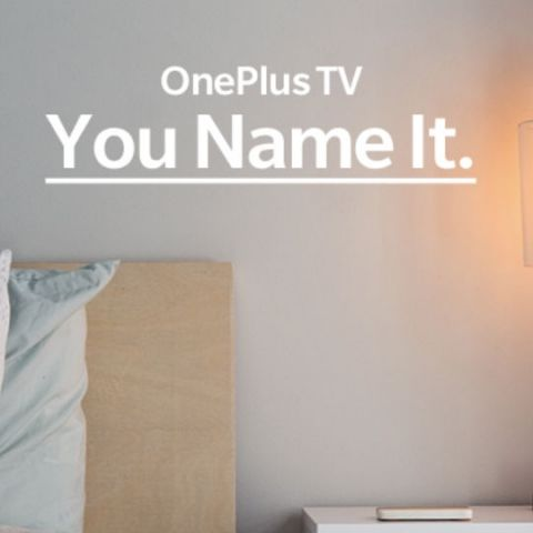 OnePlus wants fans to name its upcoming Smart TV