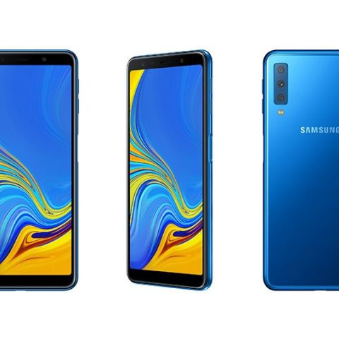 Samsung announces Galaxy A7 (2018) with triple camera setup, 6-inch FHD+ Super AMOLED Infinity Display