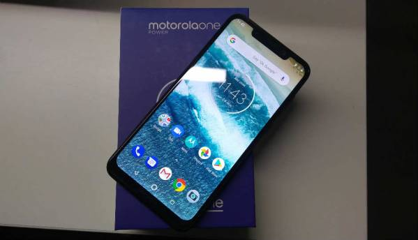Motorola One Power may soon get Android Pie update
