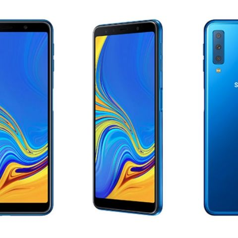 Samsung Galaxy A7 with triple rear cameras to launch in India today, company teases smartphone on Flipkart