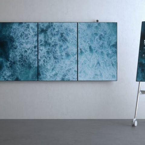 Microsoft shows off new software and hardware for Surface Hub 2