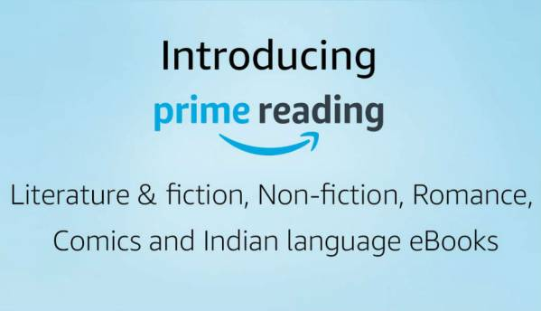Amazon Prime Reading now available in India, gives users access to hundreds of eBooks